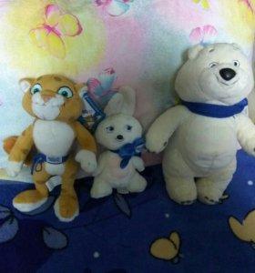 Игрушки символ олимпиады в Сочи