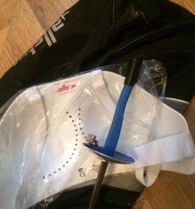 Фехтование- сумка, защита.