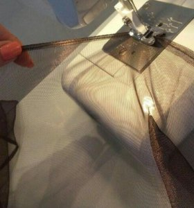 Подшив штор. ..укорачивание брюк идр.одежды.Ремонт
