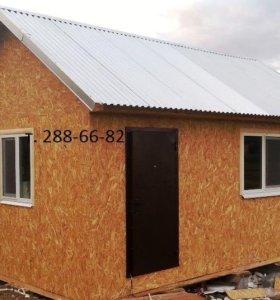 Каркасный дом 6х4 м