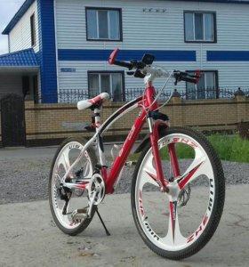 велосипед БМВ 12900. СТУПКА БУдить на реалном кли