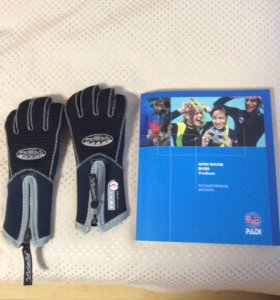 Детские перчатки для дайвинга