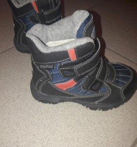 Мембрана ботинки демисезонные/ теплая зима