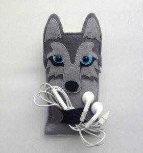 Чехлы для мобильных из фетра