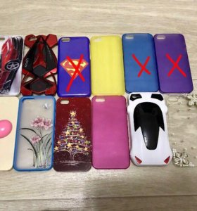 Чехол на iPhone 5, 5s, SE (новые)