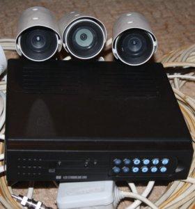 Комплект Видеонаблюдение