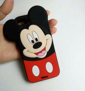 Mickey Mouse чехол панель для IPHONE АЙФОН!