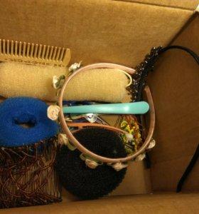 Коробочка с аксессуарами для волос