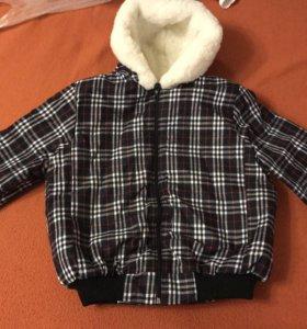 Новая куртка детская (натуральная овчина)
