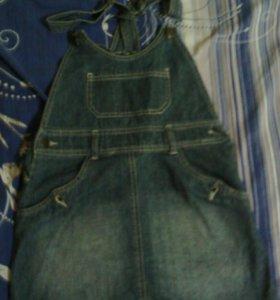 джинсовая юбка ,комбинезон