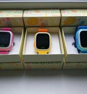 Детские smart часы с GPS трекером + wi-fi