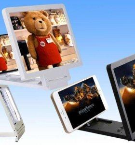 3 D экран для смартфонов enlarged screen mobail