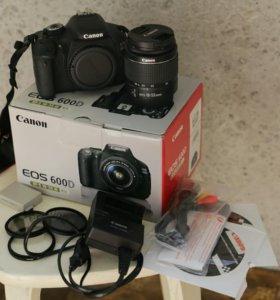 Canon EOS600D + EF-S 18-55 KIT