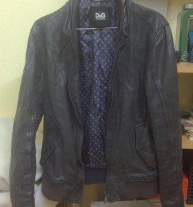 Кожаная куртка DG