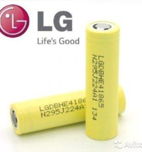 Оригинальные Li-Ion аккумуляторы LG HE4 18650