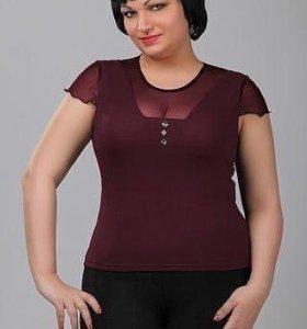 Блуза Новая 62 р-р