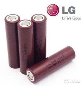 Оригинальные Li-Ion аккумуляторы LG HG2 18650