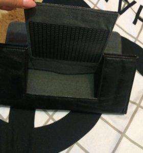 Чехол на планшет кожаный