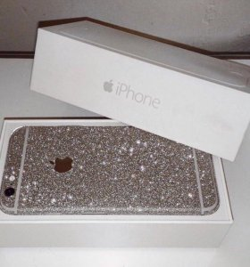 Блестящая пленка на iPhone 6