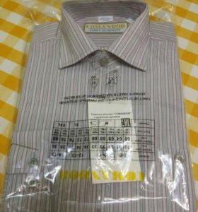 Новая рубашка р-р 134-140