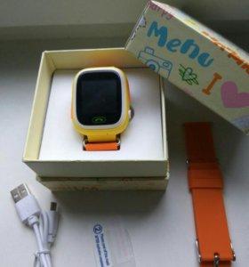 Детские часы-телефон с GPS оригинал, цвета в асс.
