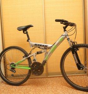 Велосипед двухподвесный stels