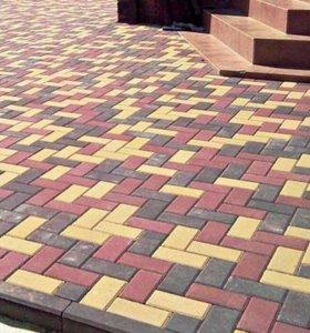 Тротуарная вибропрессованнй плитка