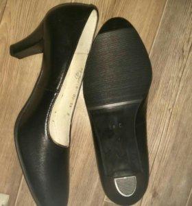 Туфли хромовые женские