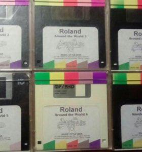 Флоппи-диски Roland