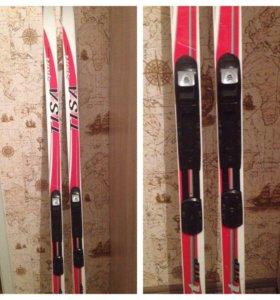 Лыжи с креплениями