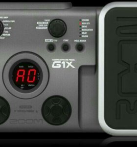 Zoom G1X. Педаль эффектов. Гитарный процессор.