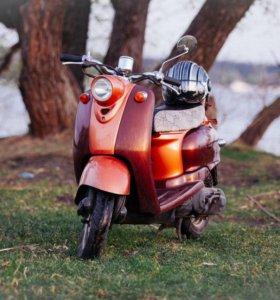 Ретро мопед (скутер ) Yamaha Vino 50 cc