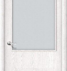 Ламинированная межкомнатная дверь «Гост» остекл