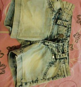 Шорты джинсовые( 42-44)🌟🌟🌟