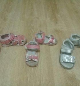 Обувь для девочки р 20-22