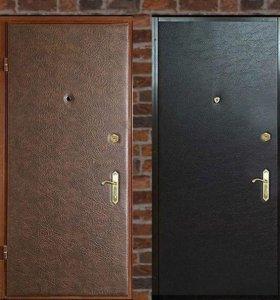 Металлические двери с винилкожей