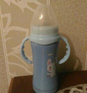 Термос бутылочку