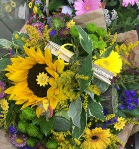Цветы с доставкой.