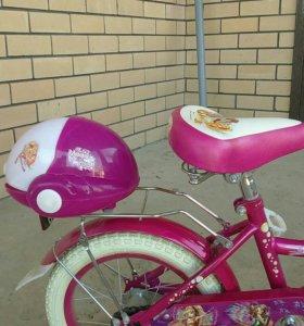 Детский велосипед для девочеки.