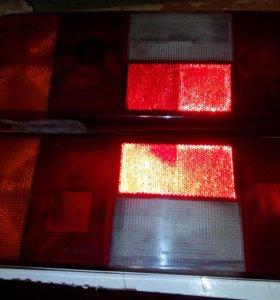 задние фонари и пластик для ВАЗ 2115