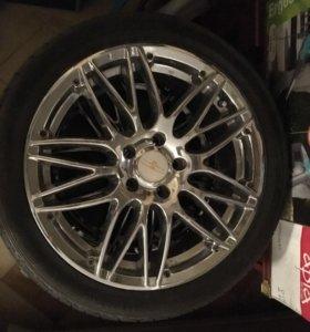 Шины dunlop SP sport maxx 245/40r18 , Диски kazera