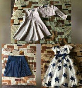 Костюм, юбка, платье