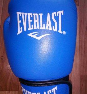 Кожанные перчатки everlast