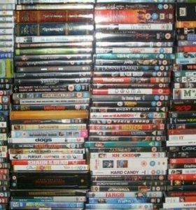 Диски DVD фильмы, сериалы, сборники