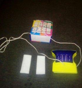 Двухстороняя счетка для мытья окон магнитная
