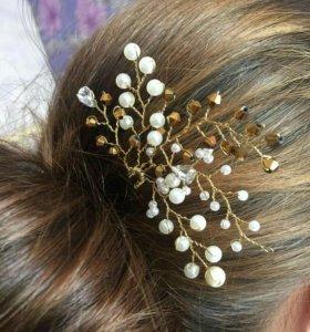 Шпилька, украшение для волос