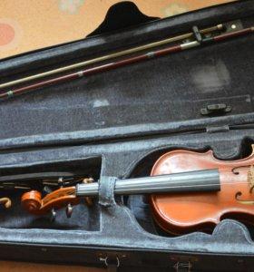 скрипка. 1/8 + мост