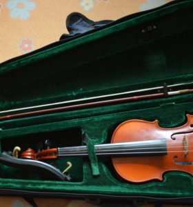 скрипка 3/4, + мост