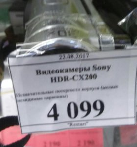 Sony hdr cx200
