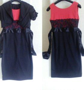 Платье 42-44 с болеро
